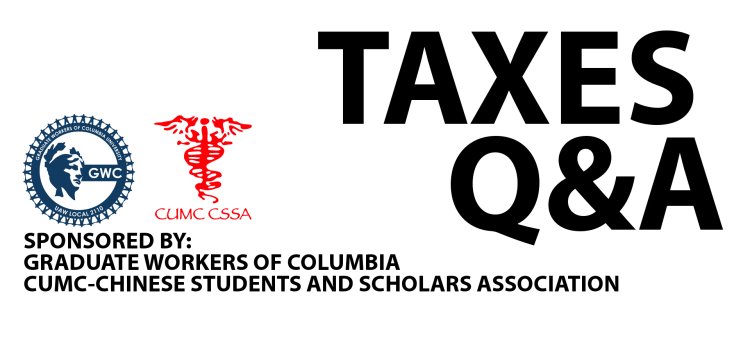 Taxes Q&A Workshop on Monday, March 28th!
