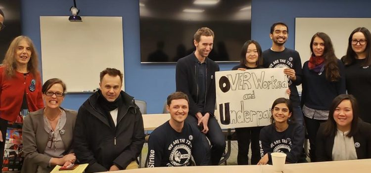 Blog: First Day of Bargaining