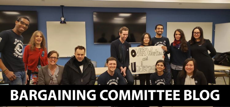 Bargaining Session #12: GWC Demands Columbia Reinstate Critical Health Plan