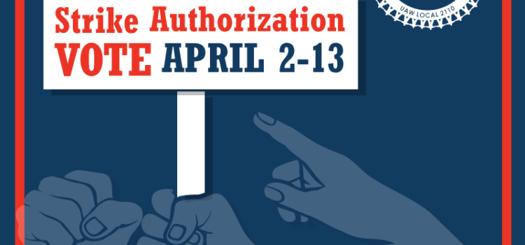 Strike Authorization Vote Starts 4/2